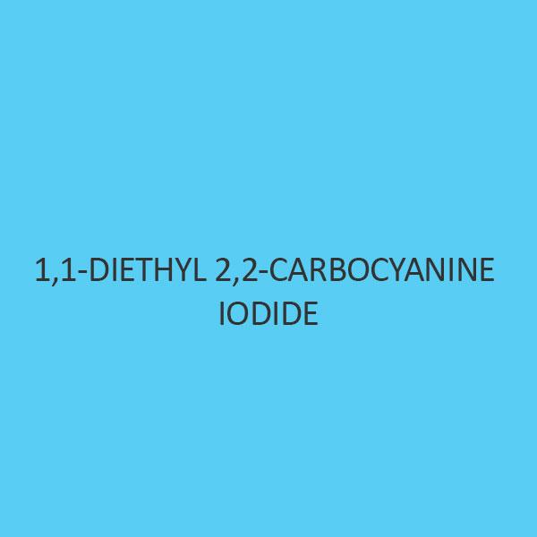 1 1 Diethyl 2 2 Carbocyanine Iodide