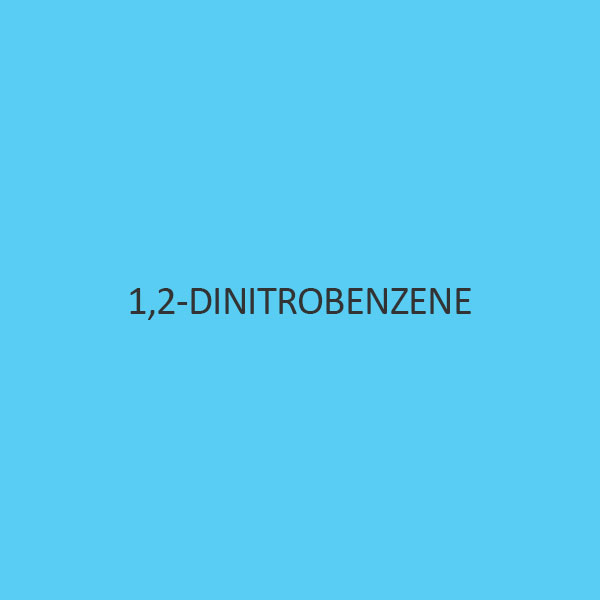 1 2 Dinitrobenzene