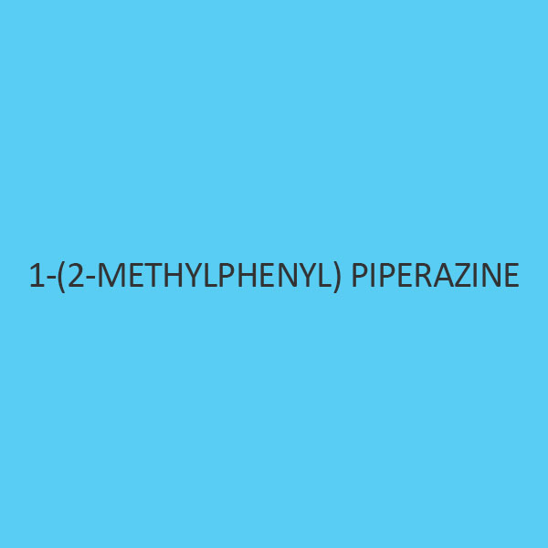 1 (2 Methylphenyl) Piperazine