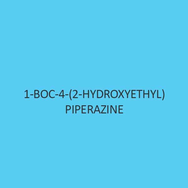 1 Boc 4 2 Hydroxyethyl Piperazine