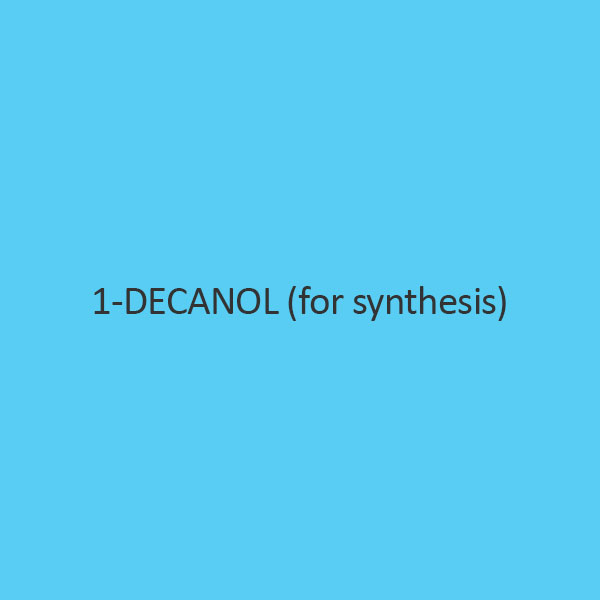 1 Decanol (For Synthesis) (Decyl Alcohol)