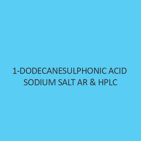 1 Dodecanesulphonic Acid Sodium Salt AR & Hplc