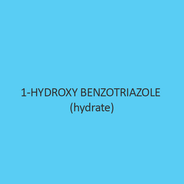 1 Hydroxy Benzotriazole (Hydrate) (For Synthesis)