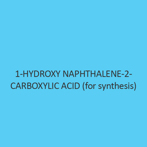 1 Hydroxy Naphthalene 2 Carboxylic Acid (For Synthesis)