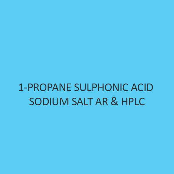 1 Propane Sulphonic Acid Sodium Salt AR & Hplc