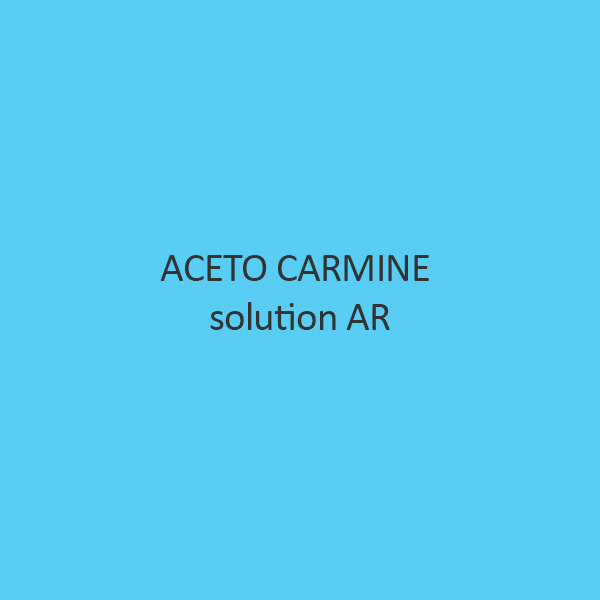 Aceto Carmine Solution AR