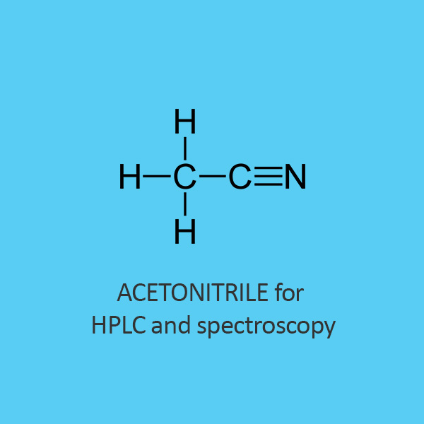 Acetonitrile for HPLC and spectroscopy