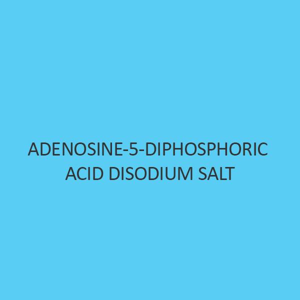 Adenosine 5 Diphosphoric Acid Disodium Salt