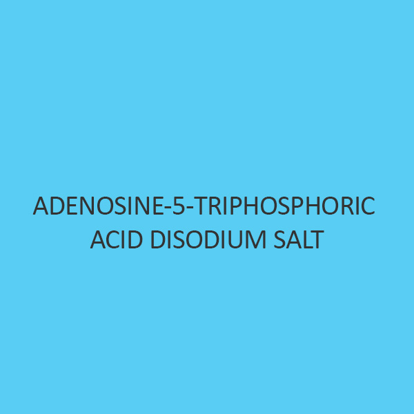 Adenosine 5 Triphosphoric Acid Disodium Salt