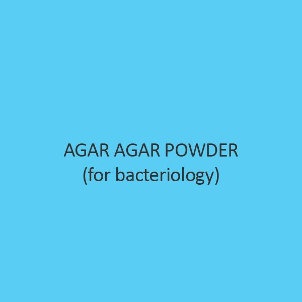 Agar Agar Powder For Bacteriology