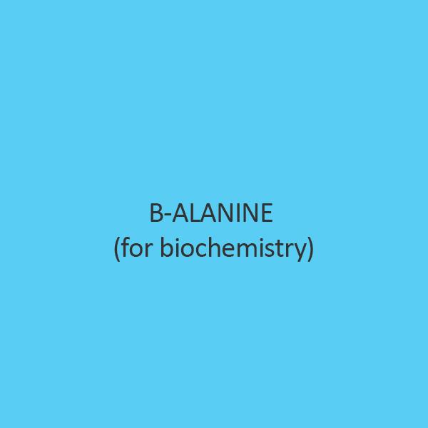 B Alanine For Biochemistry