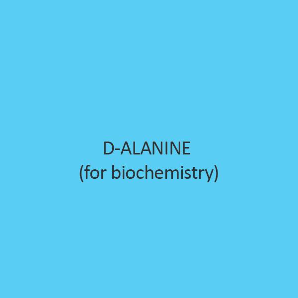 D Alanine For Biochemistry