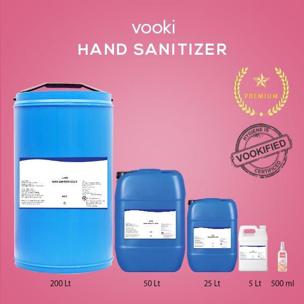 Vooki Hand Sanitizer Liquid