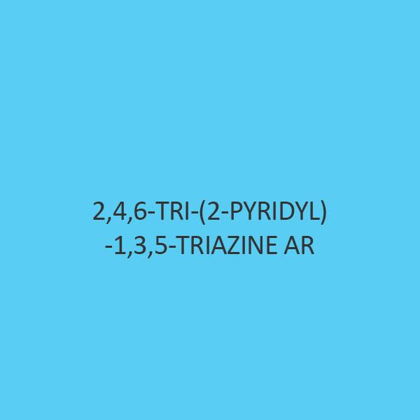 2 4 6 Tri (2 Pyridyl) 1 3 5 Triazine AR