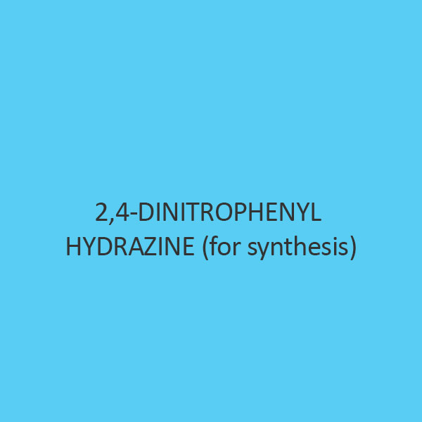 2 4 Dinitrophenyl Hydrazine (For Synthesis)