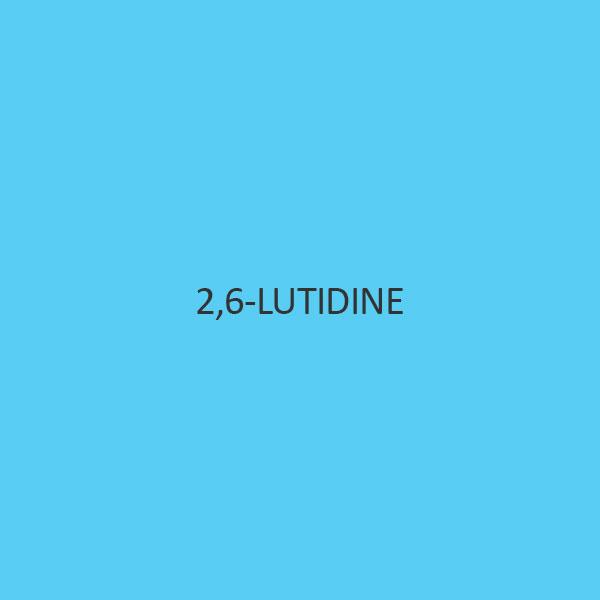 2 6 Lutidine (2 6 Dimethylpyridine)