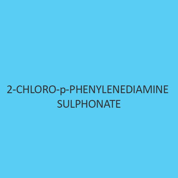 2 Chloro P Phenylenediamine Sulphonate