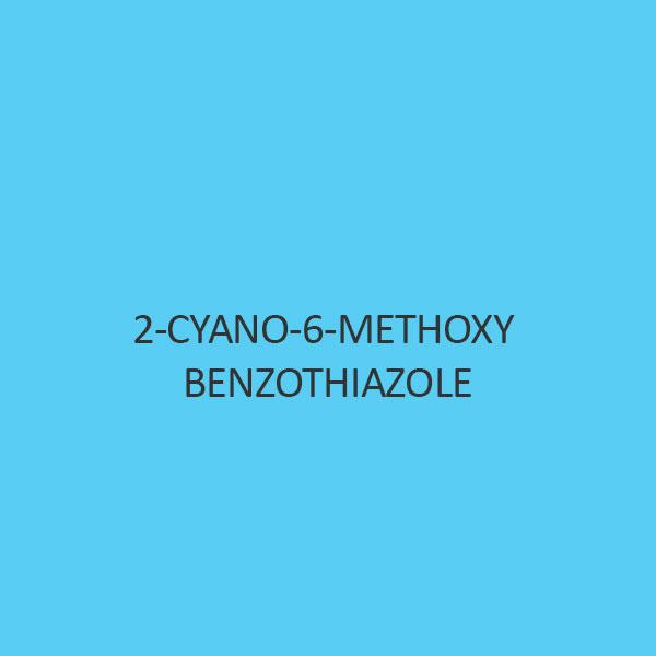 2 Cyano 6 Methoxy Benzothiazole