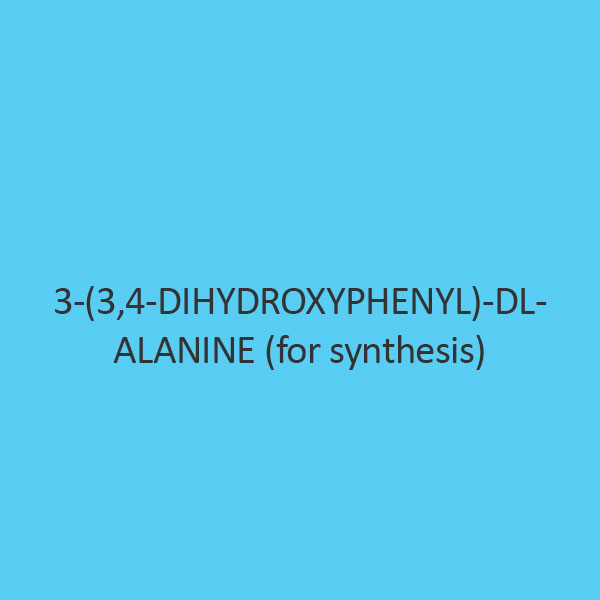 3 (3 4 Dihydroxyphenyl) Dl Alanine (For Synthesis)