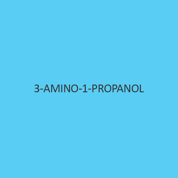 3 Amino 1 Propanol For Synthesis