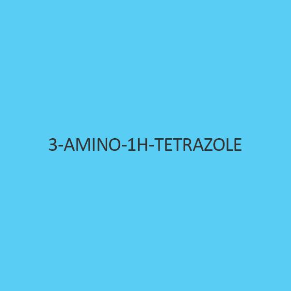 3 Amino 1H Tetrazole Monohydrate
