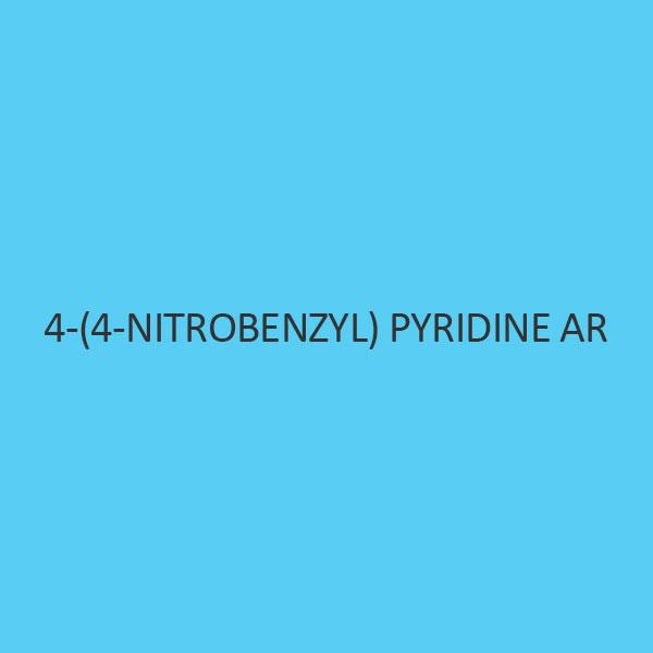 4 (4 Nitrobenzyl) Pyridine AR