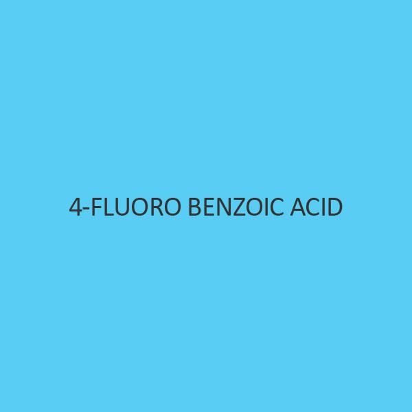 4 Fluoro Benzoic Acid