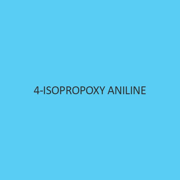 4 Isopropoxy Aniline