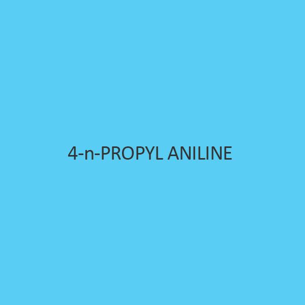 4 N Propyl Aniline