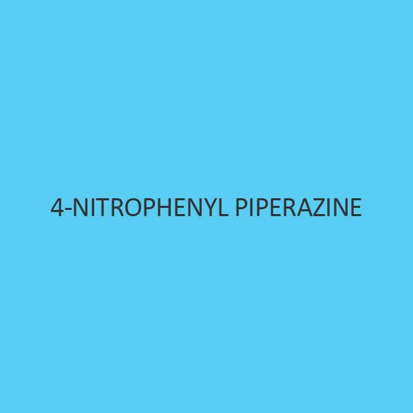 4 Nitrophenyl Piperazine