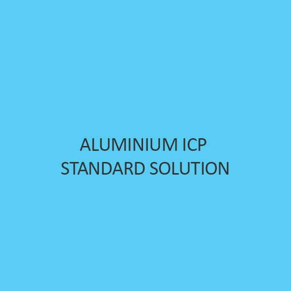 Aluminium ICP Standard Solution 1000mg L In Nitric Acid
