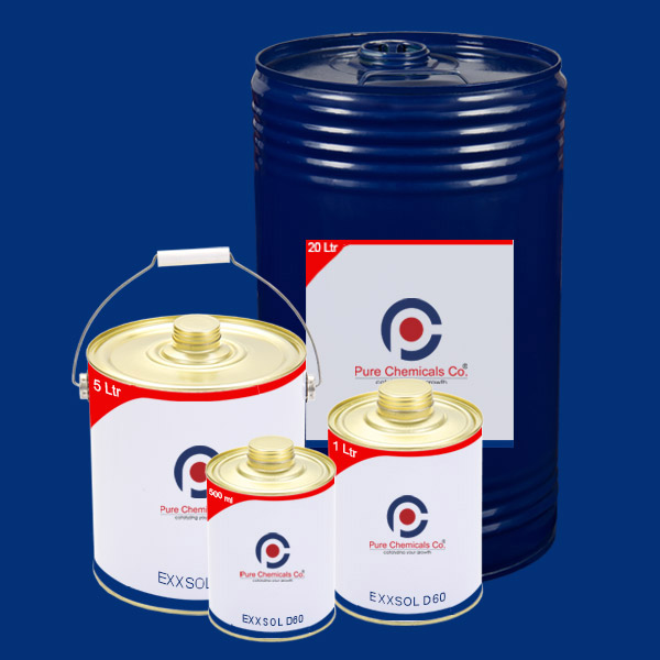 Buy Exxsol D60 5 liters Online in India | COA and MSDS available