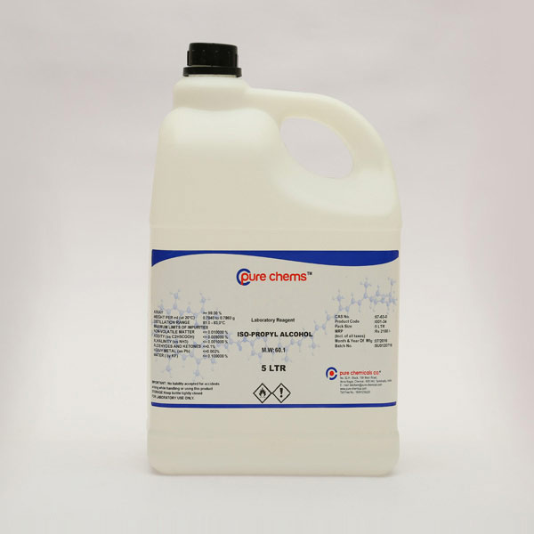 Isopropyl Alcohol LR 5Ltr