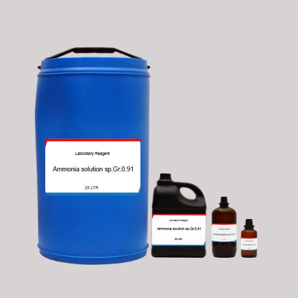 Ammonia solution sp.Gr.0.91 LR