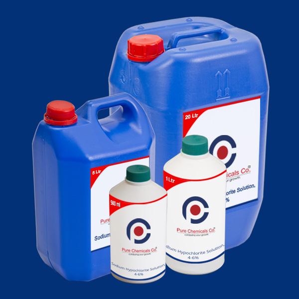 Sodium Hypochlorite Solution 4~6 percentage LR