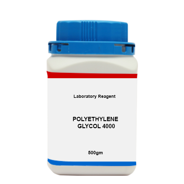 Where to buy POLYETHYLENE GLYCOL 4000 LR 500 GM