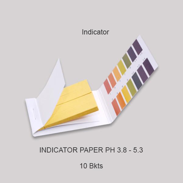 Indicator Paper Ph 3.8 5.3