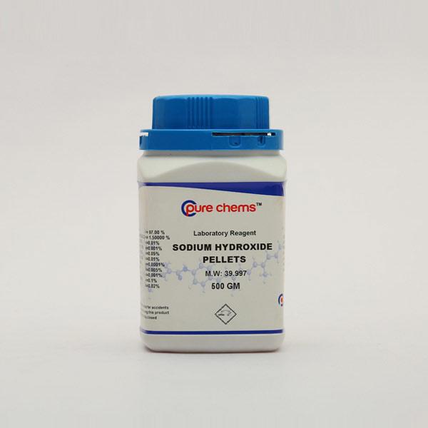 Sodium Hydroxide Pellets LR 500gm