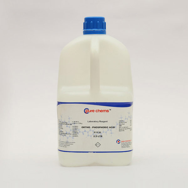 Ortho Phosphoric Acid LR 2.5Ltr