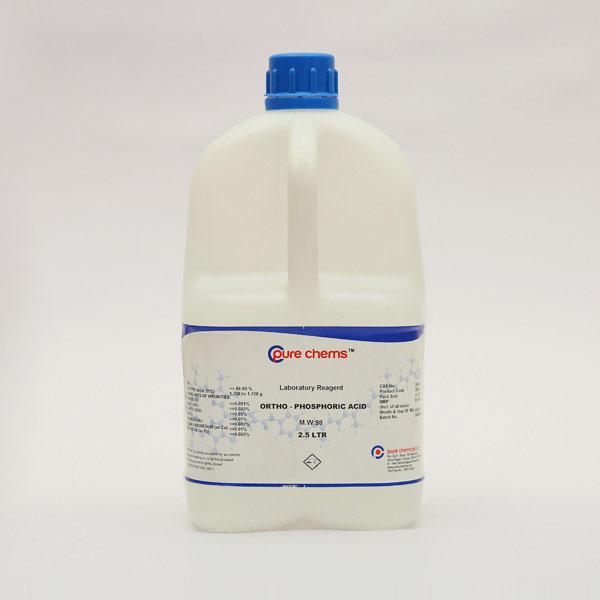 Ortho Phosphoric Acid LR 2.5Ltr