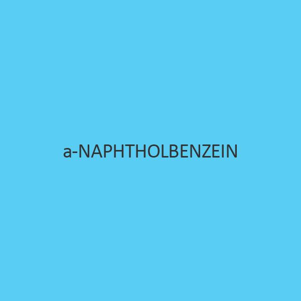a Naphtholbenzein Indicator Solution
