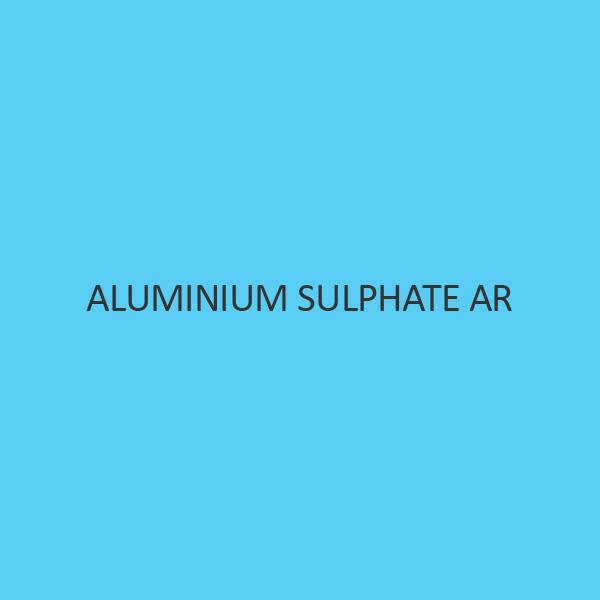 Aluminium Sulphate AR