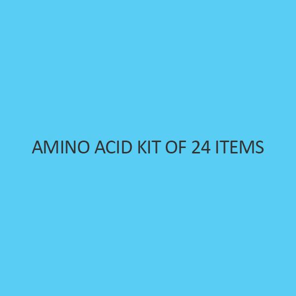 Amino Acid Kit Of 24 Items