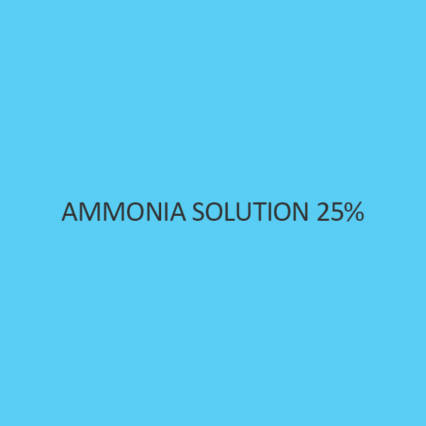 Ammonia Solution 25 Percent