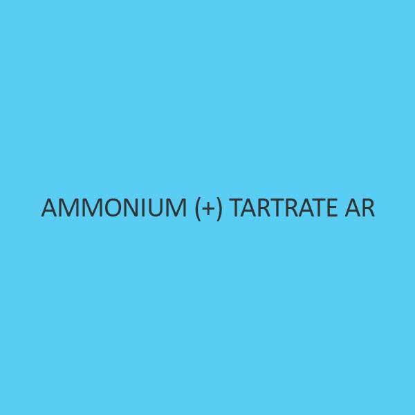 Ammonium + Tartrate AR