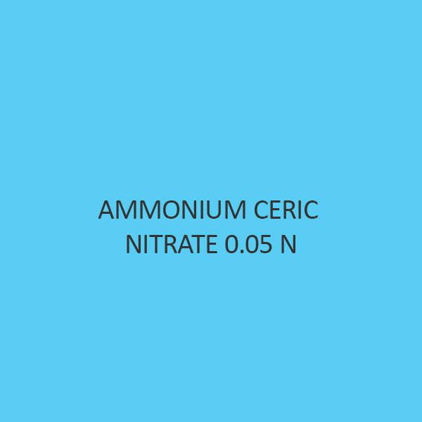 Ammonium Ceric Nitrate 0.05 N Volumetric Solution