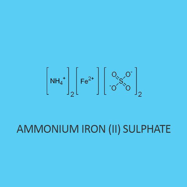 Ammonium Iron II Sulphate