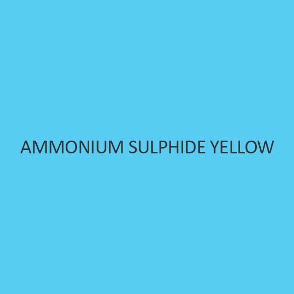 Ammonium Sulphide Yellow