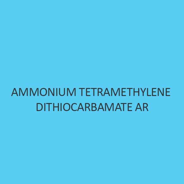 Ammonium Tetramethylene Dithiocarbamate AR