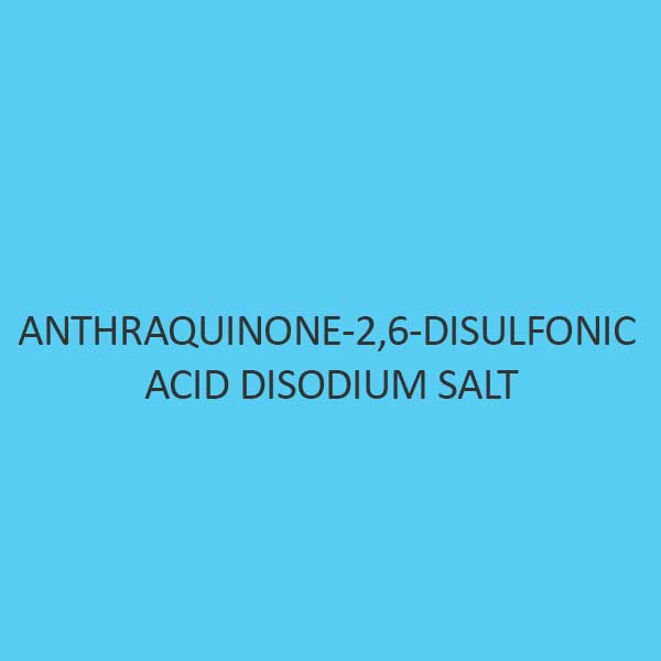 Anthraquinone 2 6 Disulfonic Acid Disodium Salt